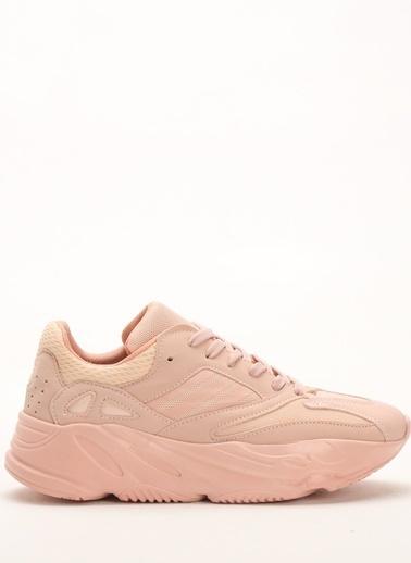 Shoes1441 Yürüyüş Ayakkabısı Pudra